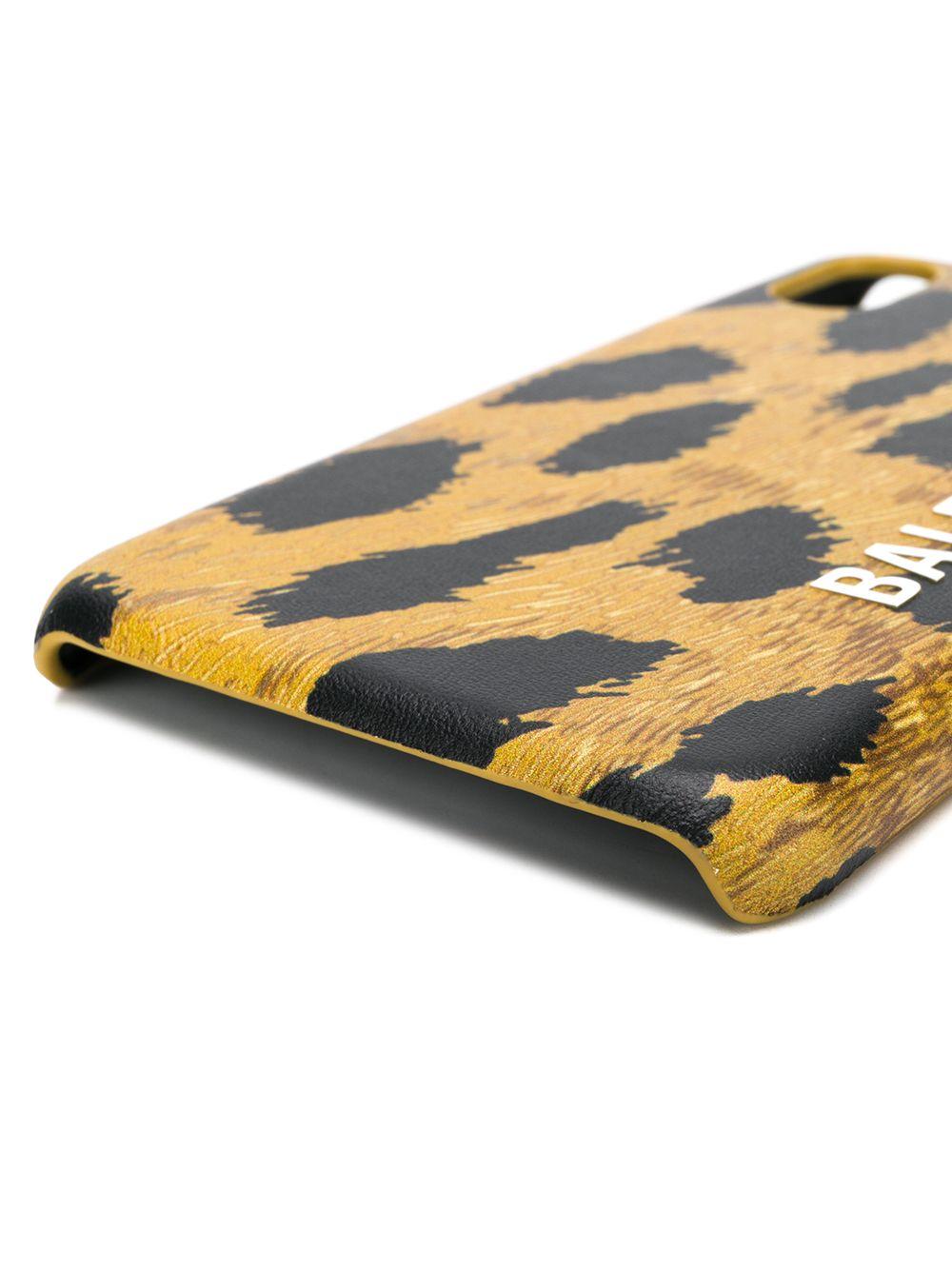 Picture of Balenciaga | Cash Leopard-Print Iphone Xs Case
