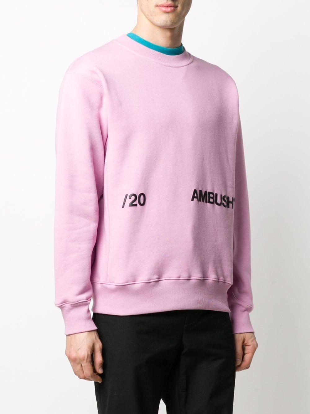 Picture of Ambush   Printed Logo Sweater