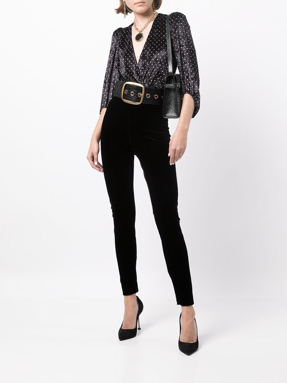Picture of Saint Laurent   Velvet Pants