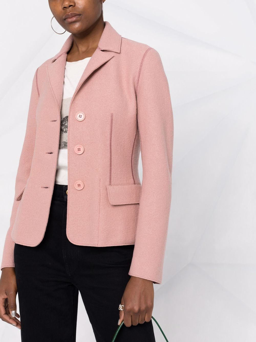Picture of Aspesi   Single-Breasted Tailored Blazer
