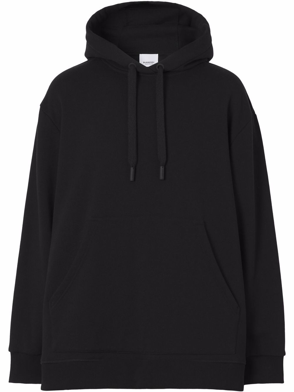Picture of Burberry   Check-Print Panelled Hoodie