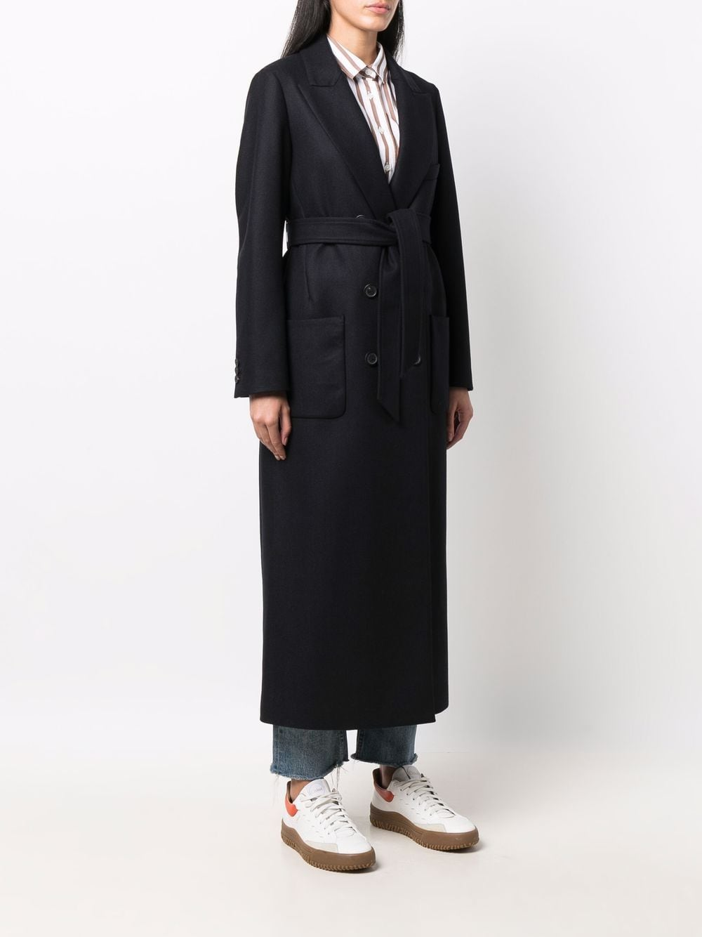 Picture of Palto' | Tailored Double-Breasted Coat