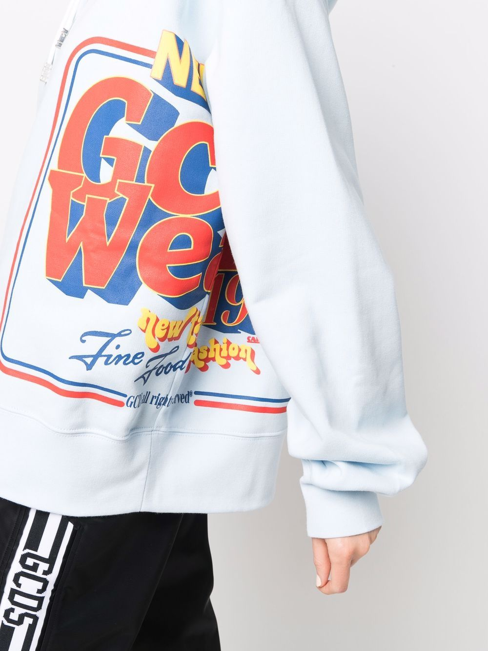Picture of Gcds | Cotton Logo Graphic Hoodie
