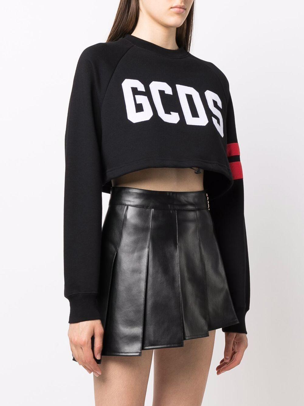 Picture of Gcds   Logo Cropped Sweatshirt