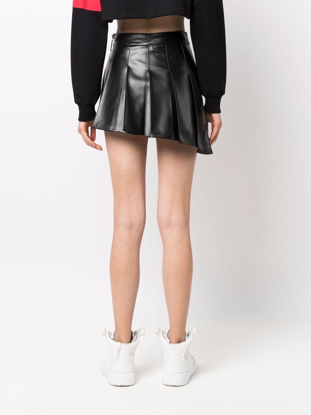 Picture of Gcds   Asymmetric Pleat Mini Skirt