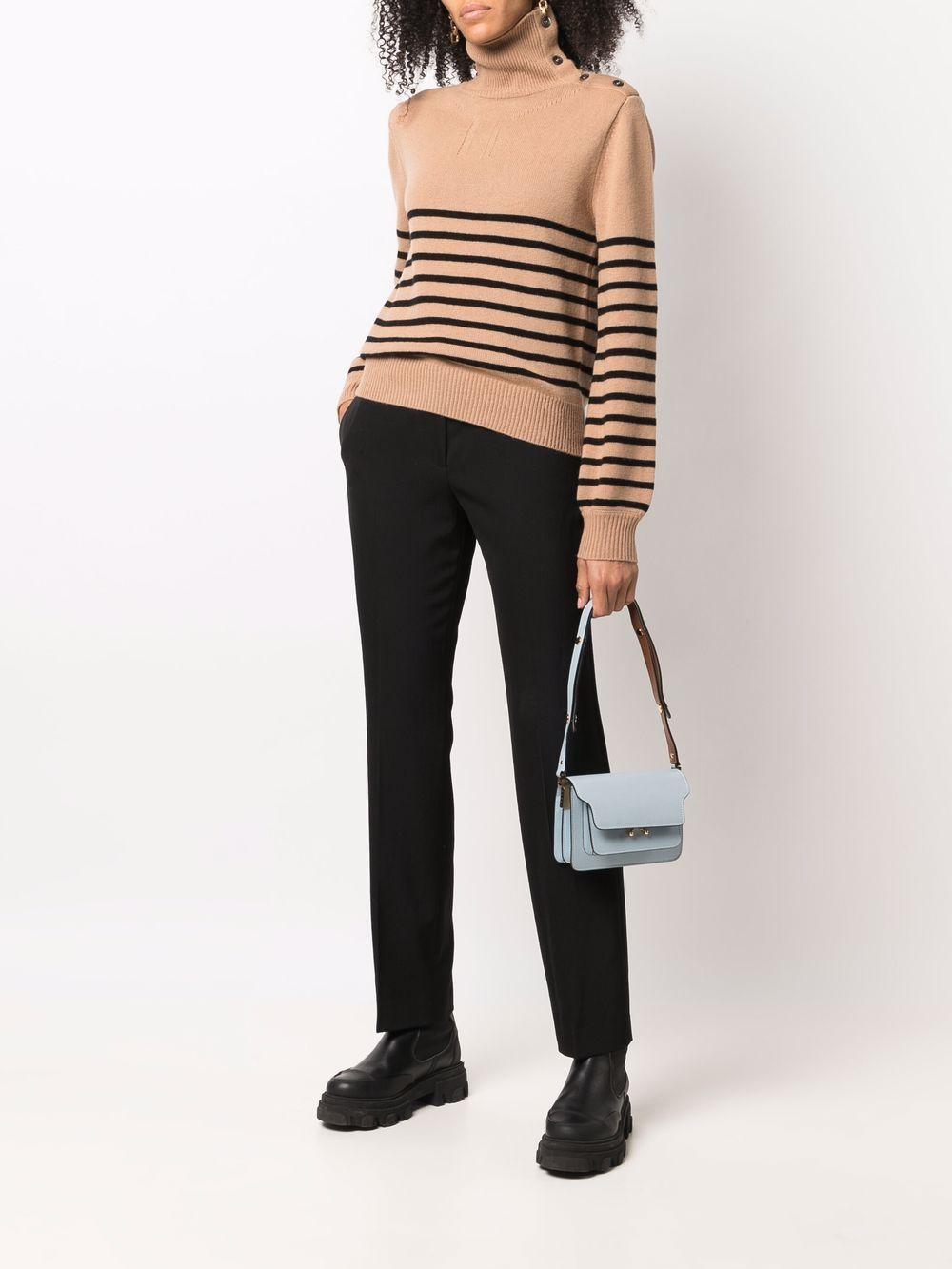 Picture of Aspesi   Striped Wool Jumper