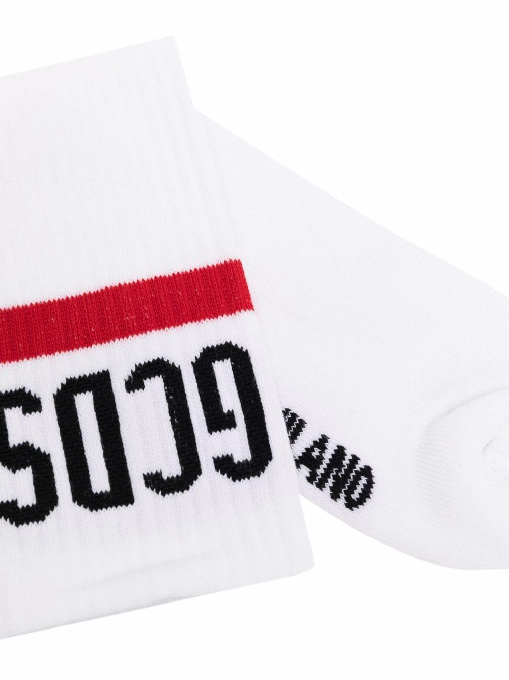 Picture of Gcds   Intarsia-Knit Logo Socks
