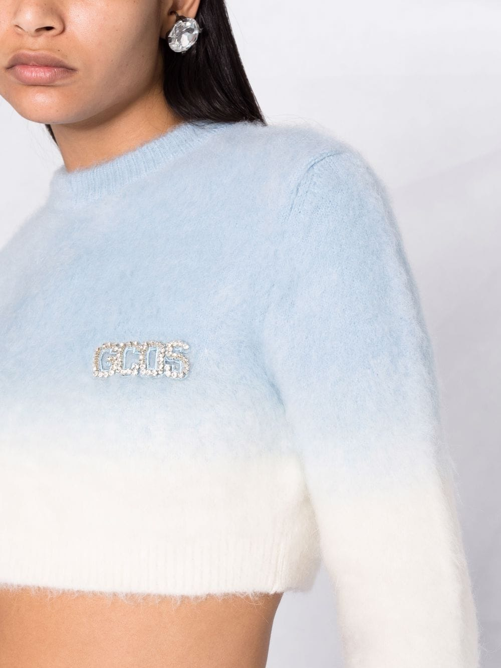 Picture of Gcds | Gradient-Effect Cropped Jumper