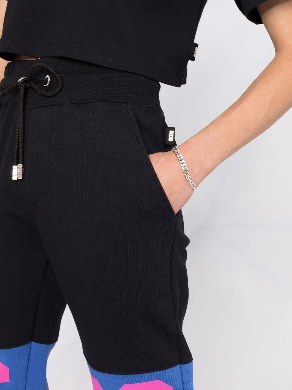 Picture of Gcds | Box Logo-Print Track Pants