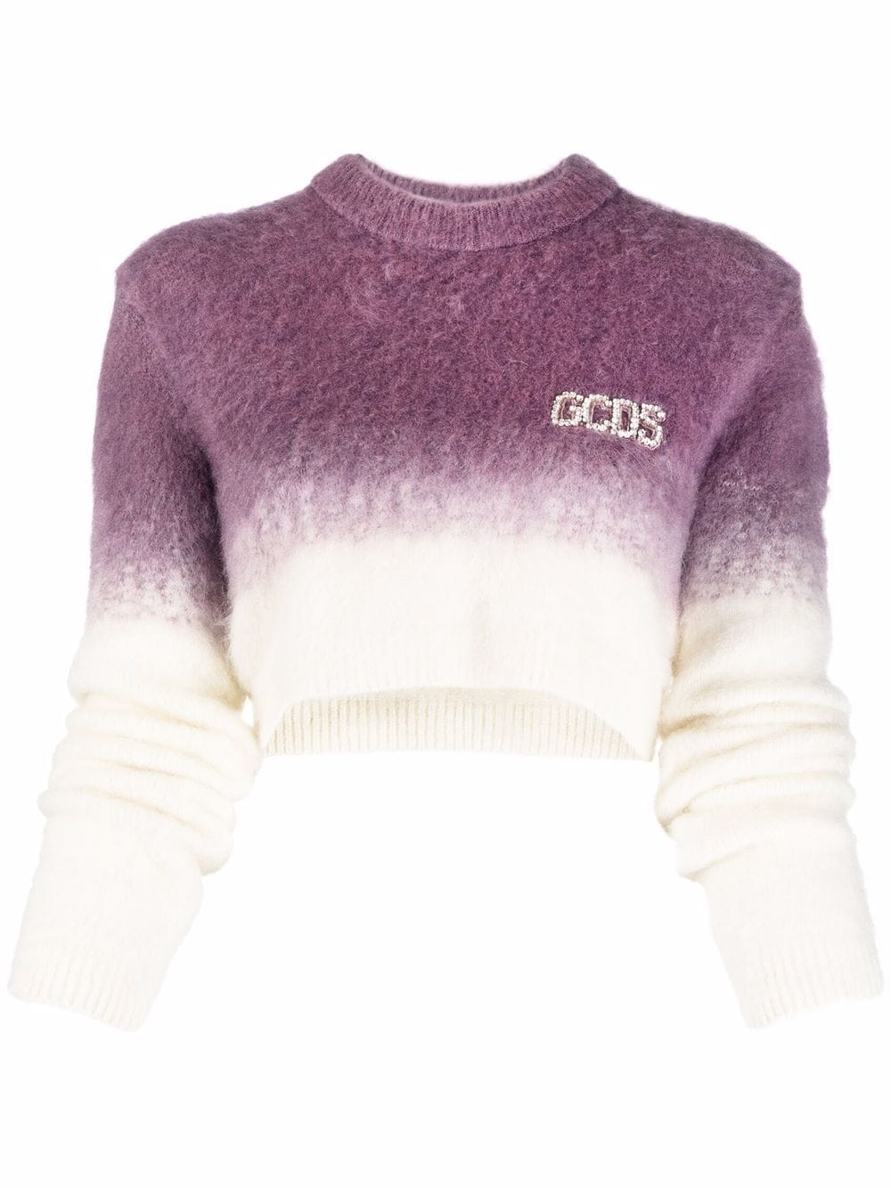 Picture of Gcds   Gradient-Effect Cropped Jumper