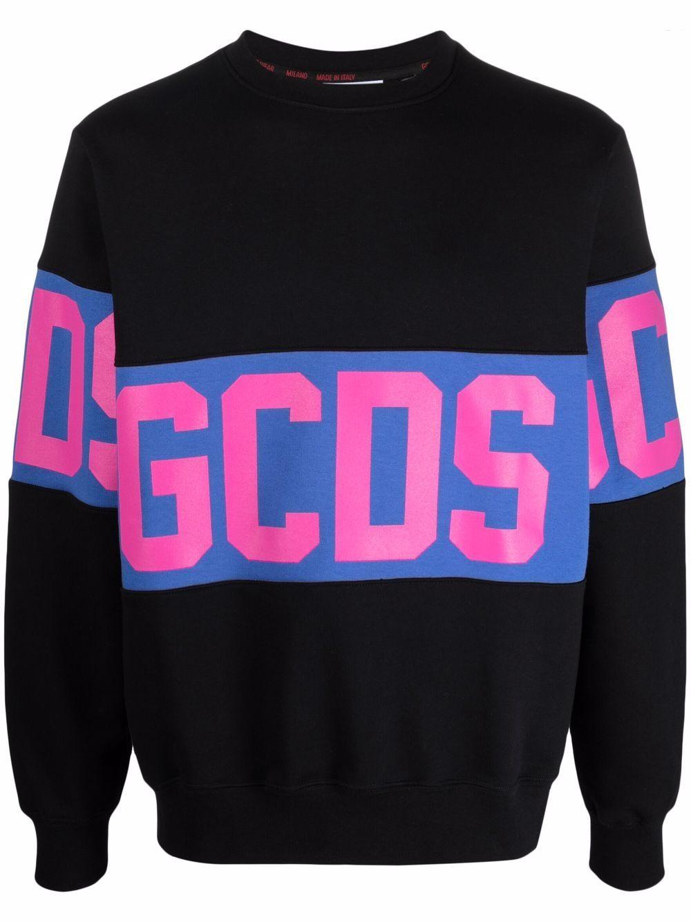 Picture of Gcds | Logo-Print Block-Print Sweatshirt
