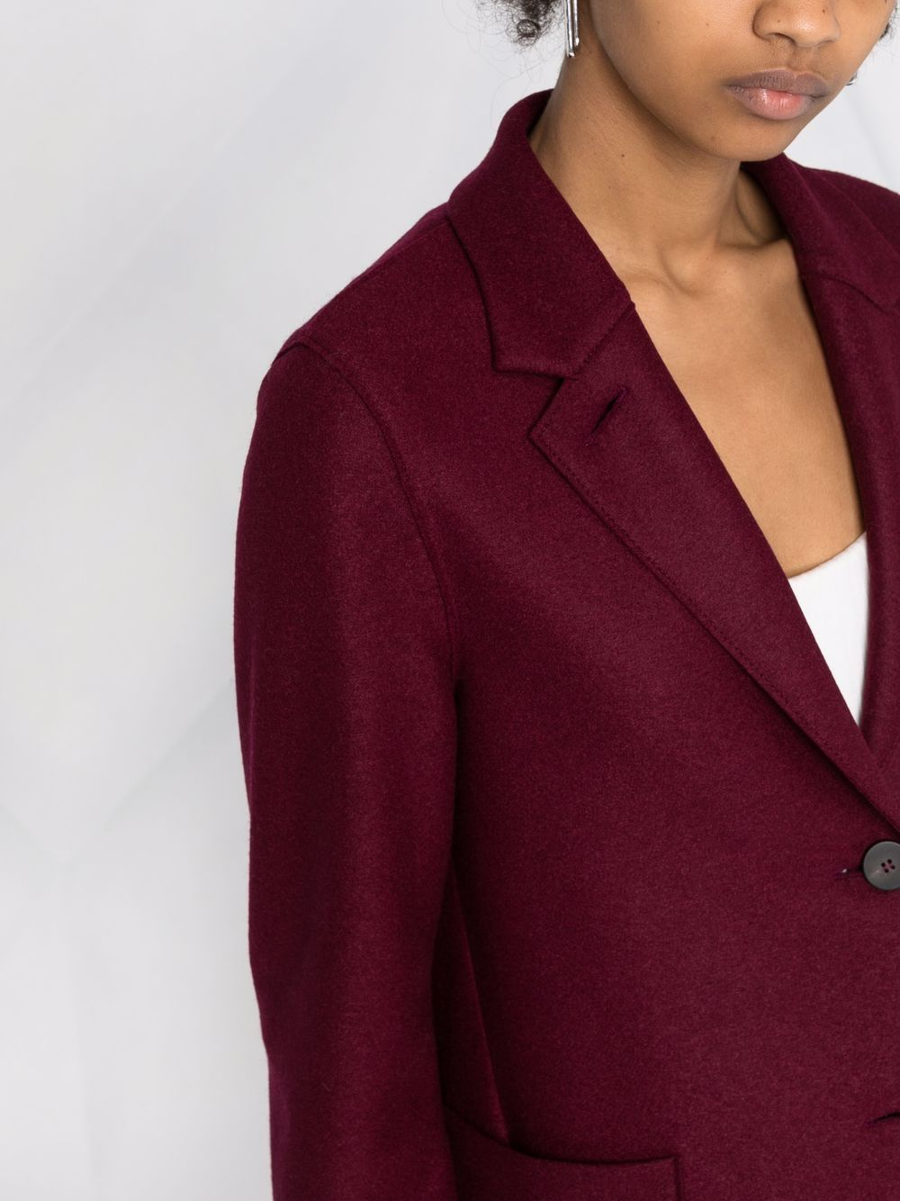 Picture of Harris Wharf London   Single-Breasted Wool Blazer
