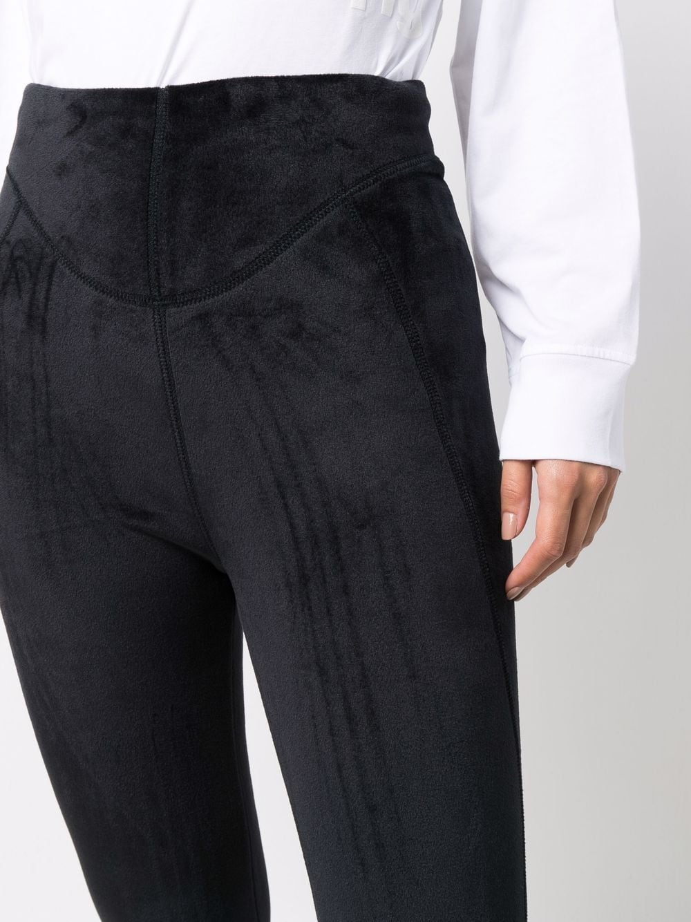 Picture of Alexander Wang | High-Waisted Sculpted Bootcut Trousers