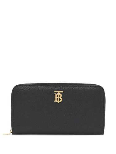 Picture of Burberry | Monogram Plaque Zip-Around Wallet