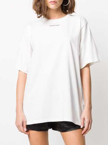 Picture of Golden Goose Deluxe Brand | Logo Print Cotton T-Shirt