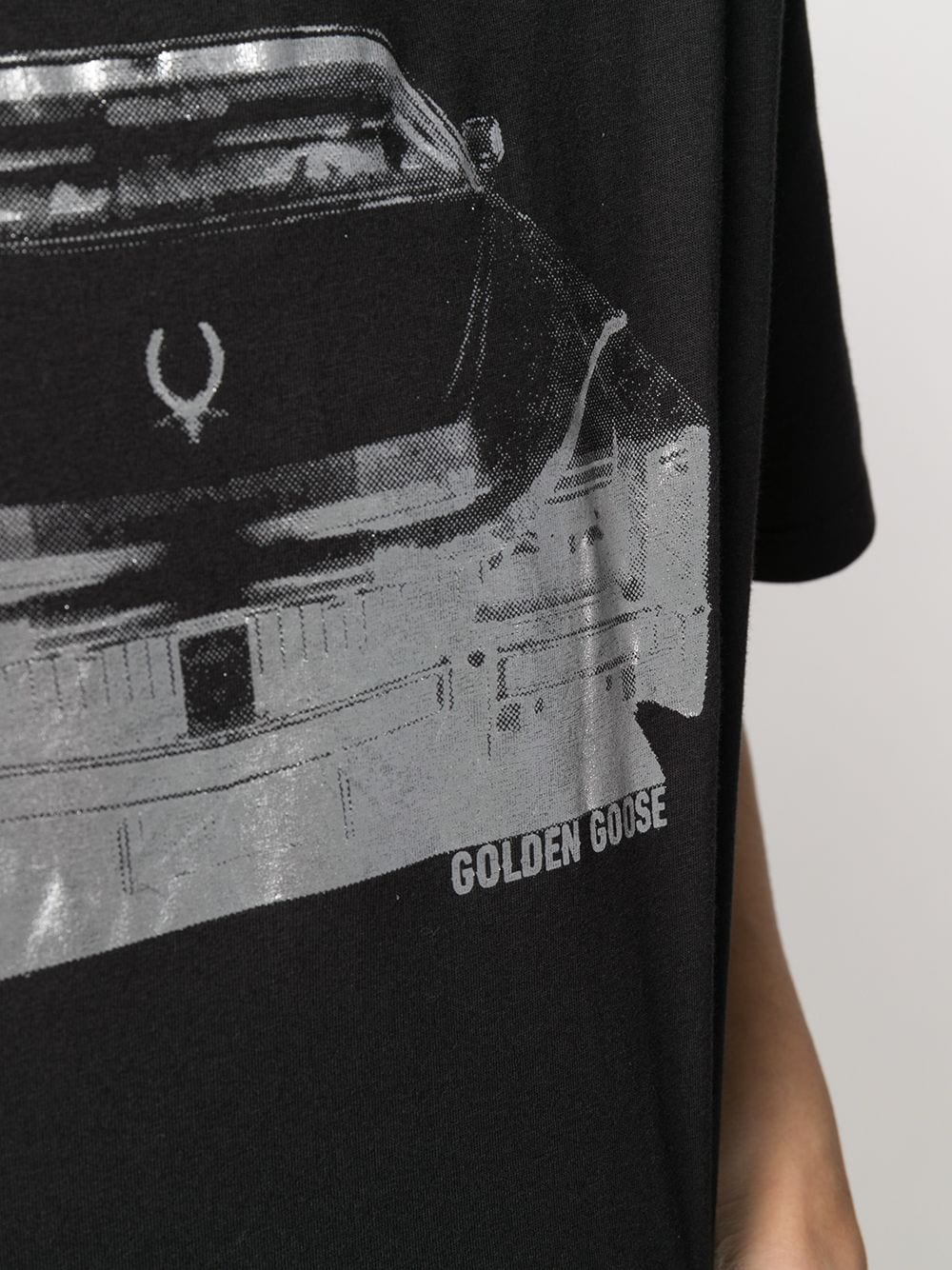 Picture of Golden Goose Deluxe Brand | Cadillac Print T-Shirt