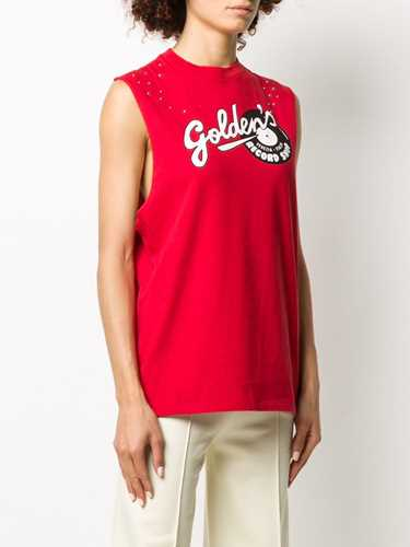Picture of Golden Goose Deluxe Brand | Animal Print Tank Top