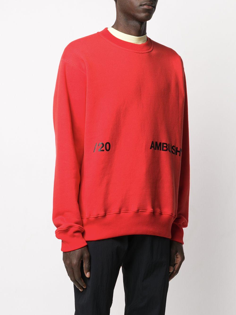 Picture of Ambush | Printed Logo Sweater