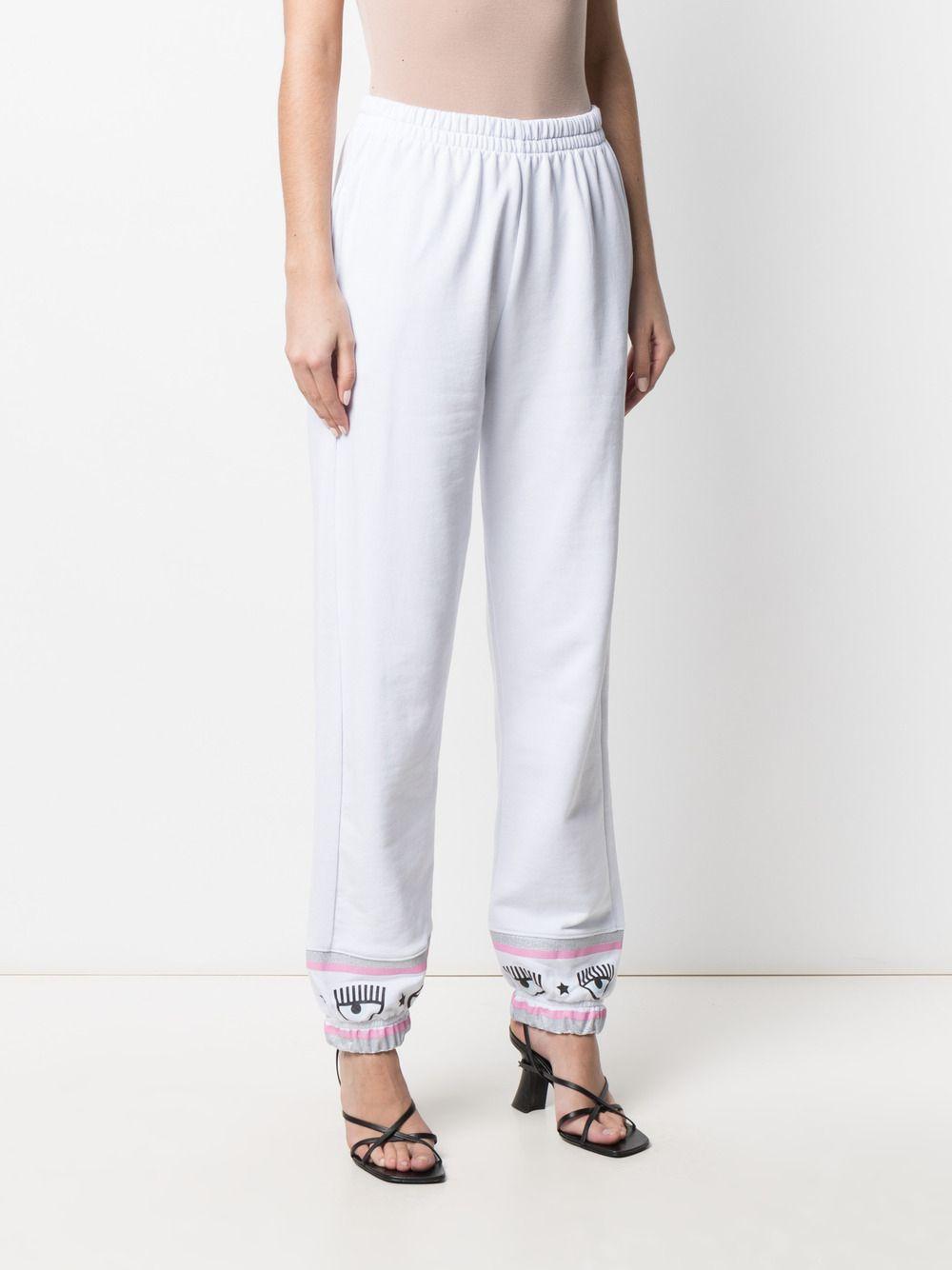Picture of Chiara Ferragni | Embroidered Edge Track Pants