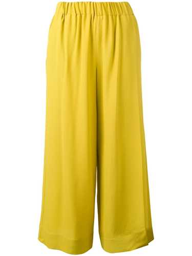 Picture of Incotex | Cropped Wide-Leg Trousers