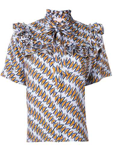 Picture of Dice Kayek | Geometric Print Shirt
