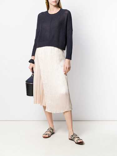 Picture of Vince | Pleated Midi Skirt