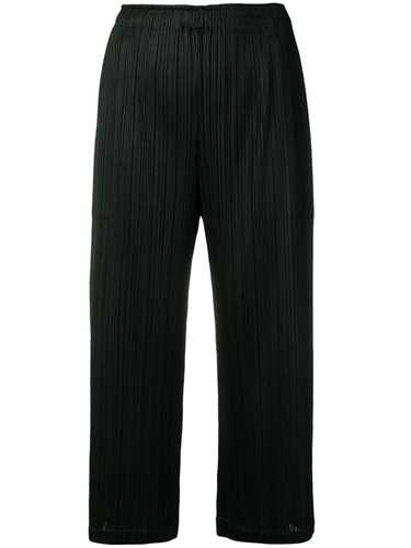 Picture of Issey Miyake Pleats Please | Cropped Pleated Trousers