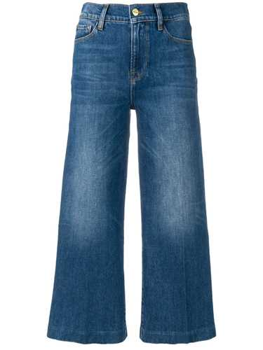 Picture of Frame Denim | Wide Leg Cropped Jeans