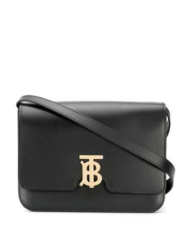 Picture of Burberry | Tb Monogram Shoulder Bag