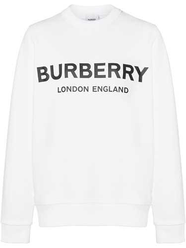 Picture of Burberry | Logo Print Sweatshirt