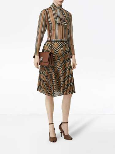 Picture of Burberry | Vintage Check Chiffon Pleated Skirt