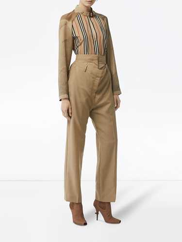 Picture of Burberry   Icon Stripe Blouse