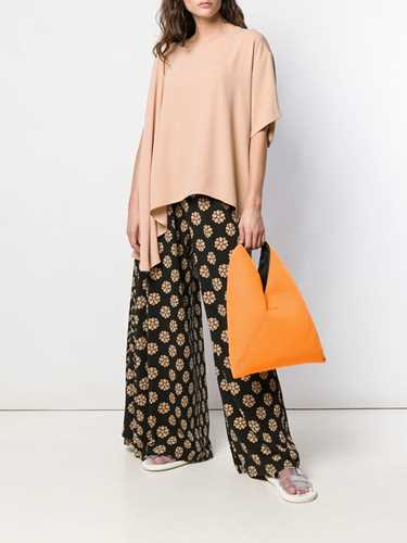 Picture of Mm6 | Floral Print Palazzo Pants