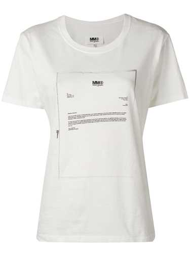 Picture of Mm6 | Letter Print T-Shirt
