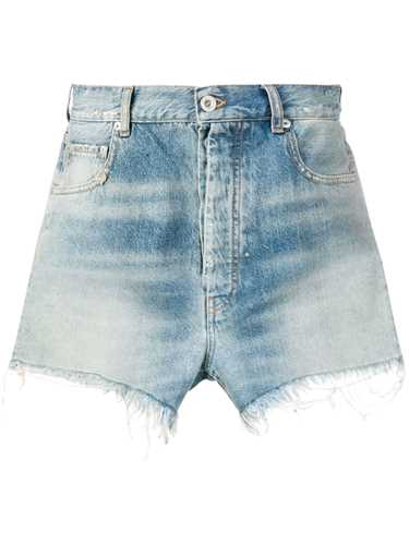 Picture of Unravel Project | Denim Fringed Shorts