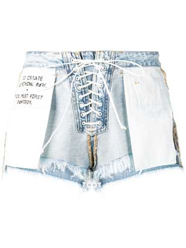 Picture of Unravel Project | Reverse Lace-Up Shorts