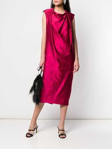Picture of Dries Van Noten | Draped Neck Dress