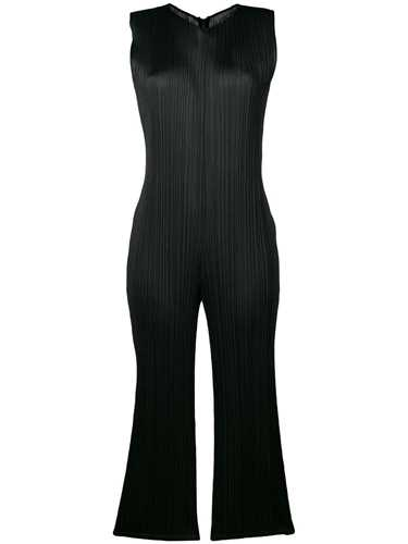 Picture of Issey Miyake Pleats Please | Cropped Pleated Jumpsuit