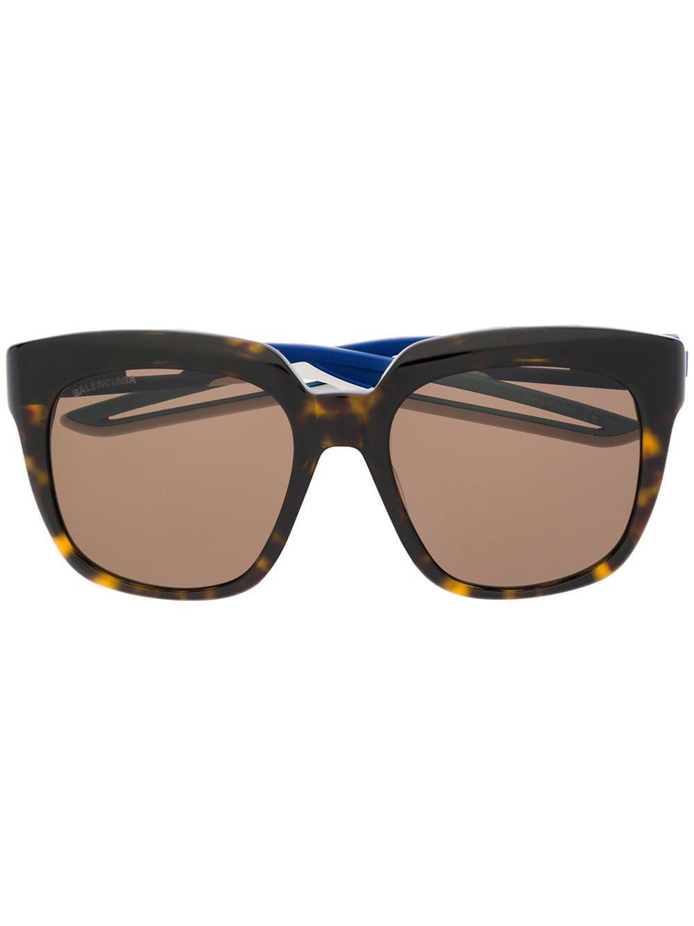 Picture of Balenciaga | Hybrid D-Frame Sunglasses
