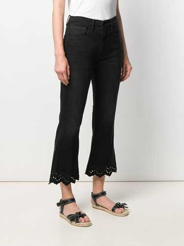Picture of Frame Denim   Flared Cropped Jeans