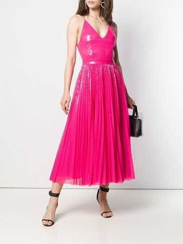 Picture of Msgm | Sequin Pleated Dress
