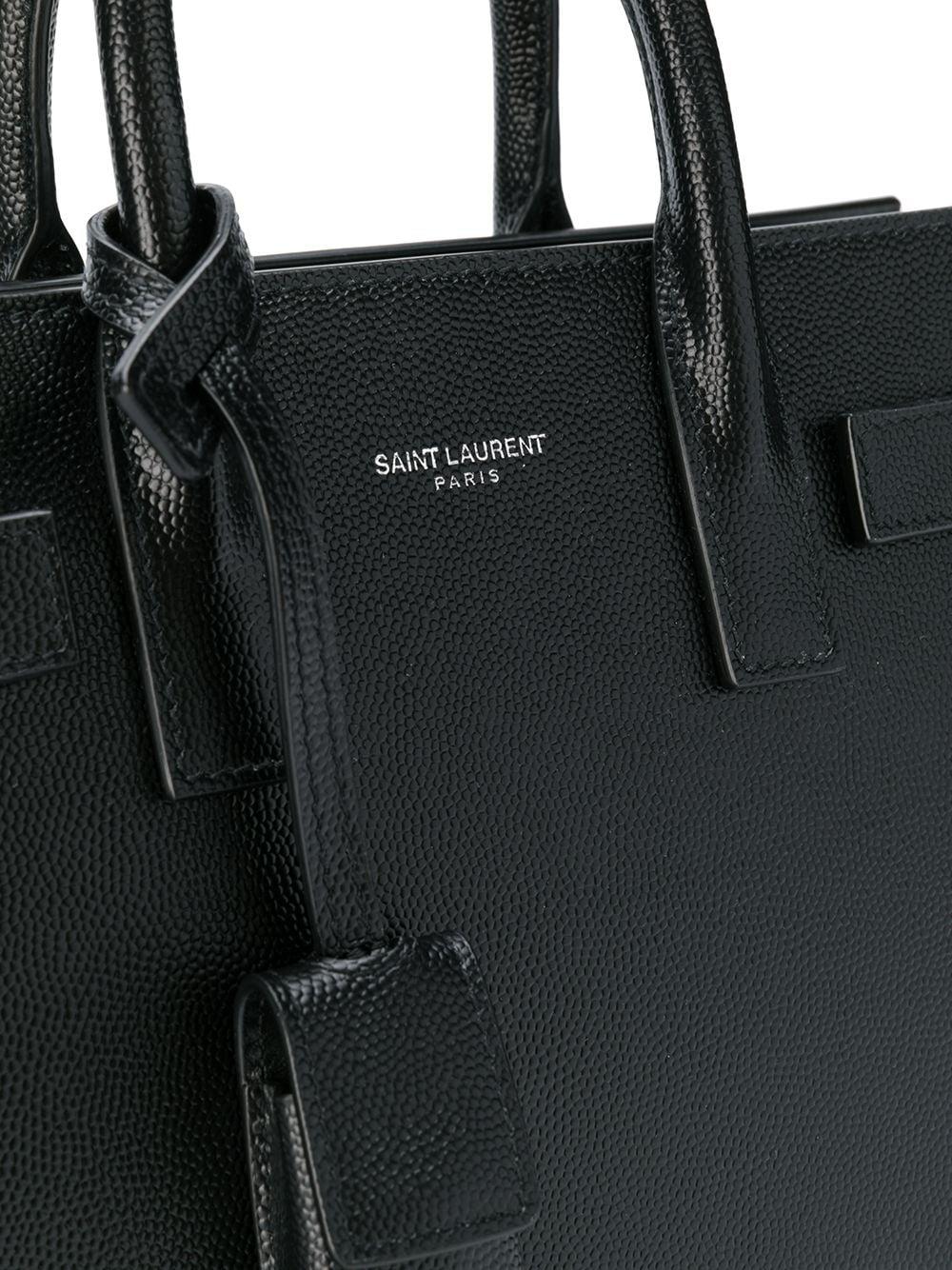 Picture of Saint Laurent | Nano Sac De Jour Tote Bag