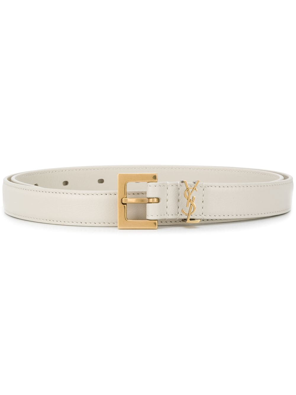 Picture of Saint Laurent | Monogram Leather Belt