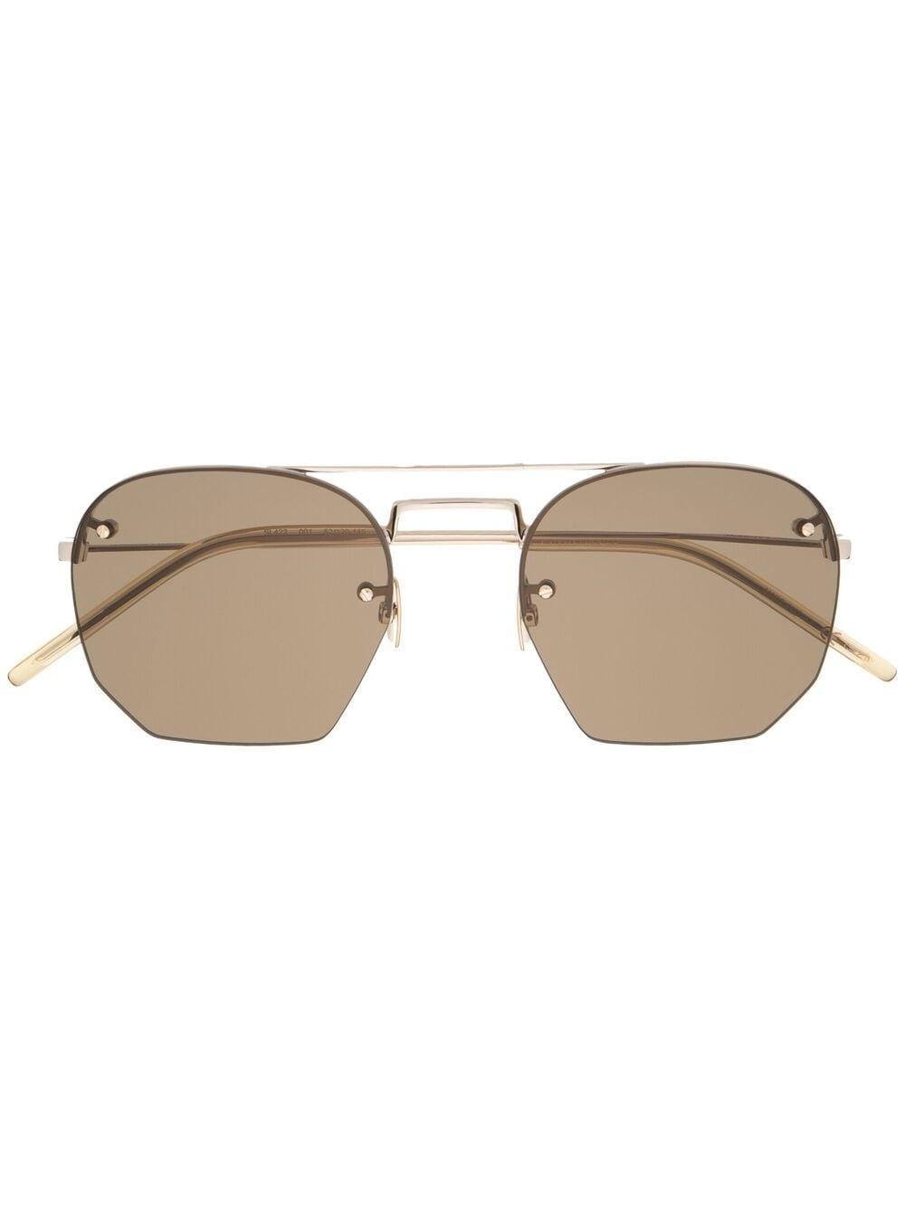 Picture of Saint Laurent | Aviator-Frame Sunglasses