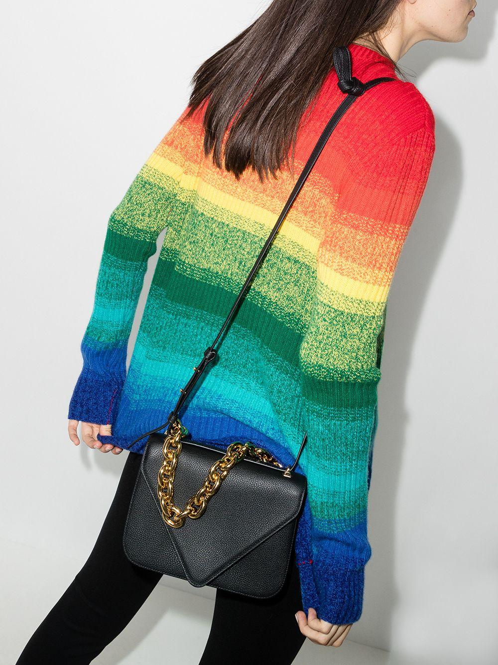 Picture of Bottega Veneta | Chain-Link Shoulder Bag