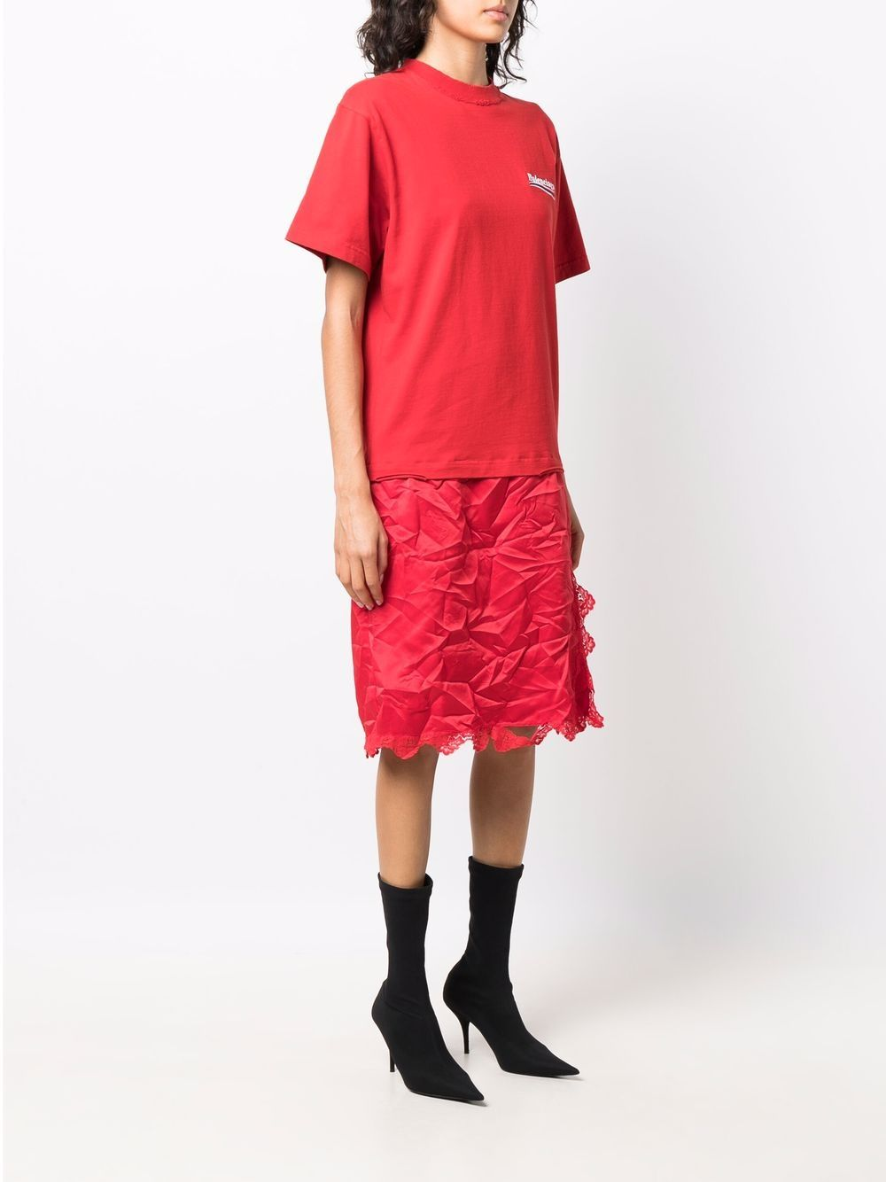 Picture of Balenciaga | T-Shirt Slip Dress