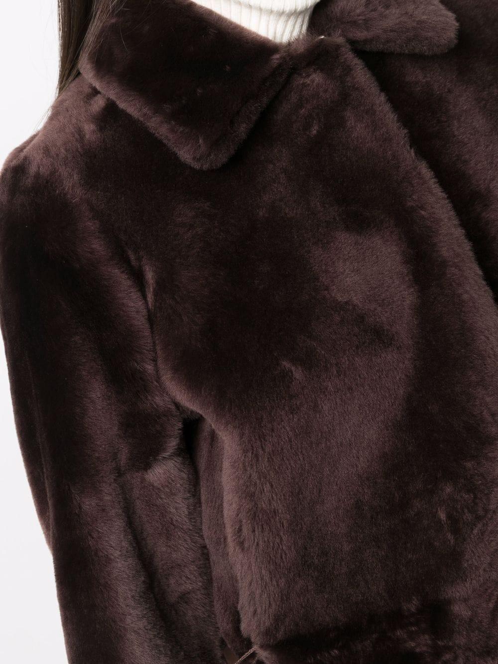 Picture of Desa 1972   Reversible Shearling Coat
