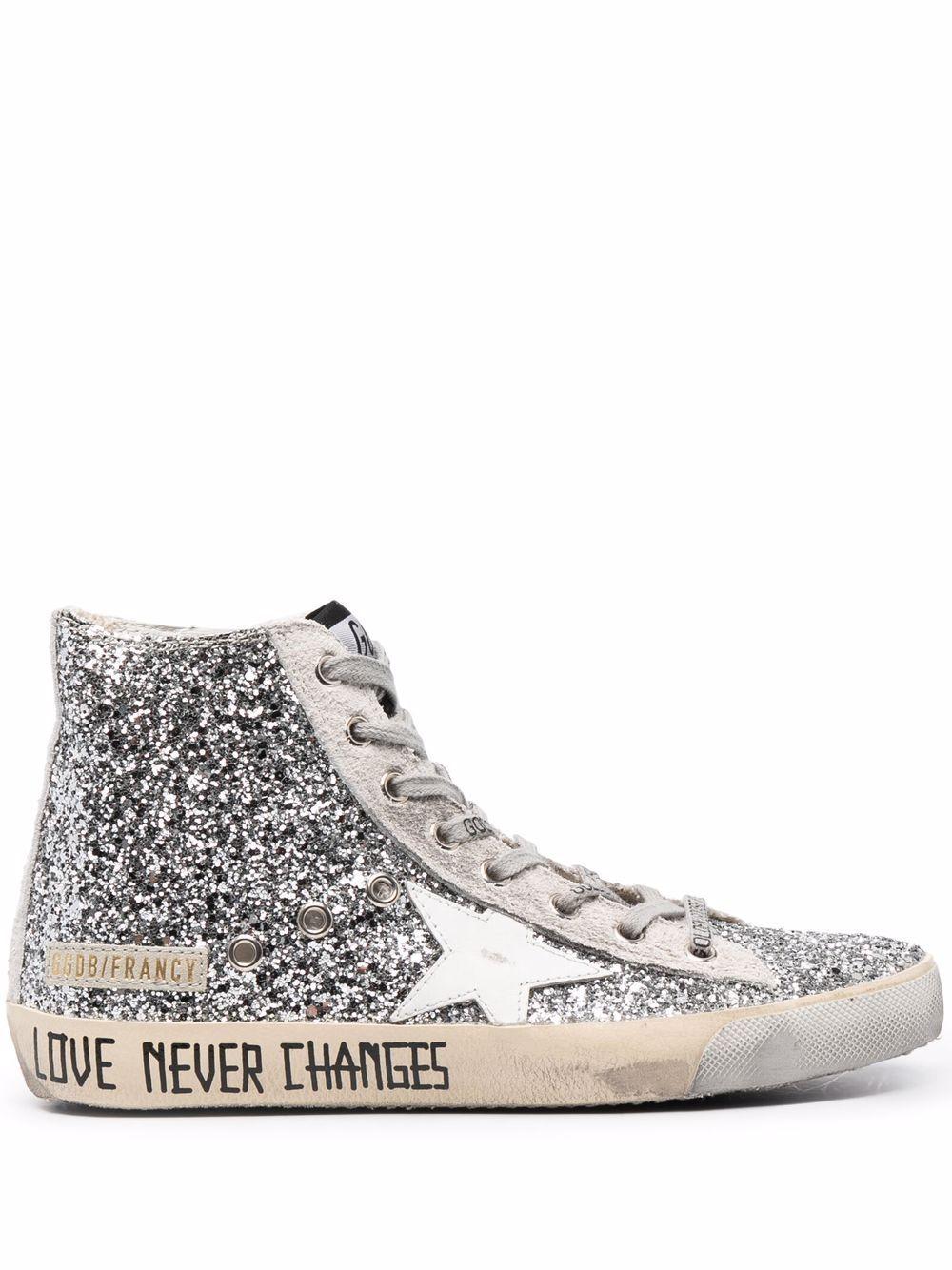 Picture of Golden Goose Deluxe Brand | Francy High-Top Sneakers