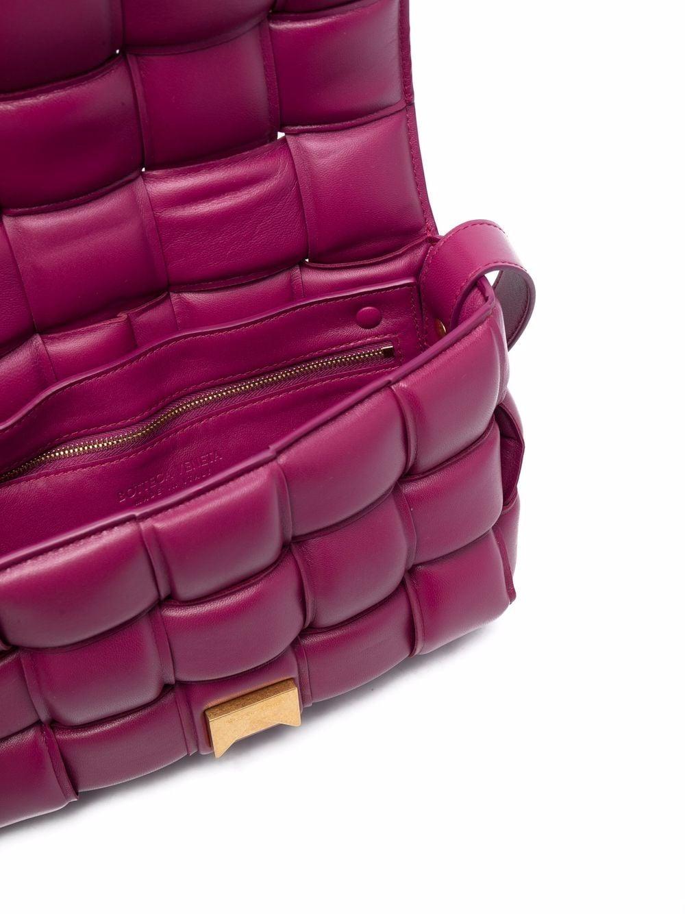 Picture of Bottega Veneta | Cassette Padded Shoulder Bag