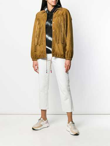 Picture of Golden Goose Deluxe Brand | Fringed Jacket